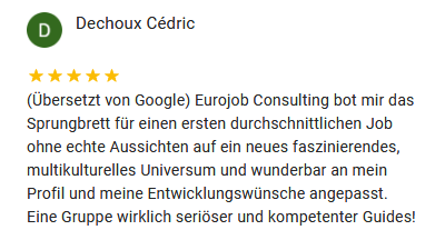 Google Rezension Dechoux