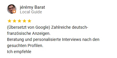 Google Rezension Barat