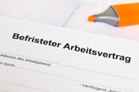 Befristete Verträge in Deutschland