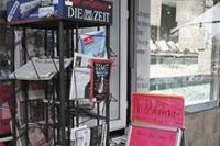Turbulences dans la presse allemande