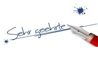 Formules e-Mail en Allemagne