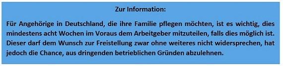 Berufstätigkeit und Angehörigenpflege - Gesetzeslage im Vergleich Deutschland versus Frankreich Grafik 2