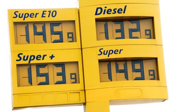 Kraftstoff in Frankreich und Deutschland