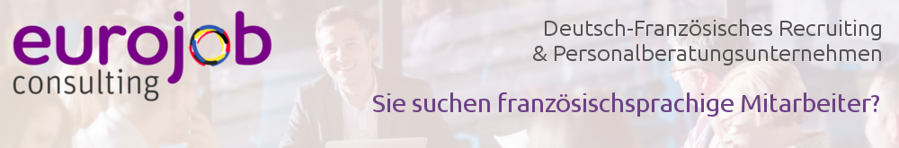Deutsch-französische Personalsuche Eurojob-Consulting