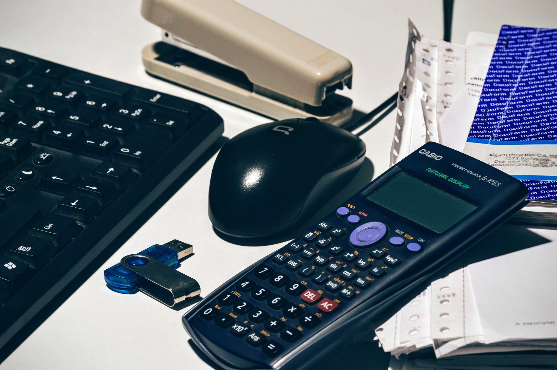 Taschenrechner, Tastatur