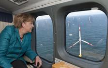 Inauguration du premier parc éolien offshore en mer Baltique