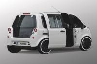 Das futuristische deutsch-französische Elektroauto