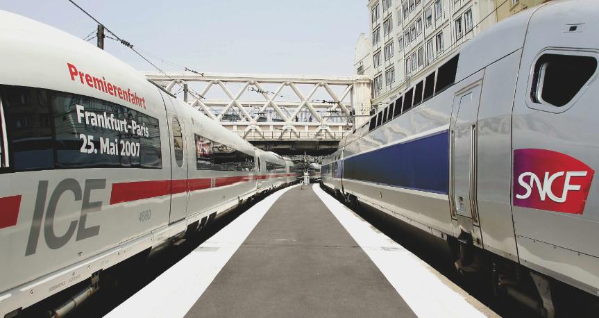 Französische und deutsche Unternehmen im Vergleich: SNCF und Deutsche Bahn